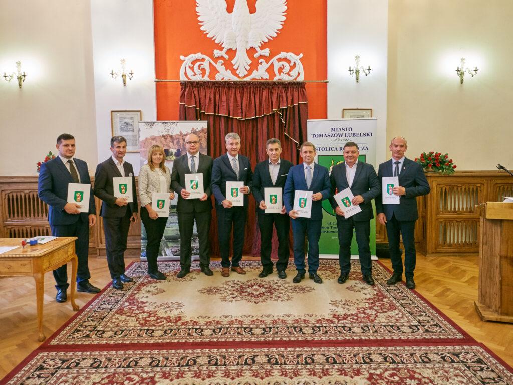 Zawarcie partnerstwa w Tomaszowie Lubelskim!