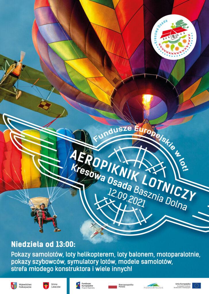 AeroPiknik Lotniczy – Fundusze Europejskie w lot! 12 września w Kresowej Osadzie